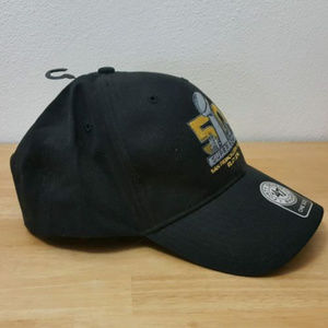 47 BRAND - Forty Seven Brand Accessories - SUPER BOWL 50 NFL BLACK CAP a25e01bc6